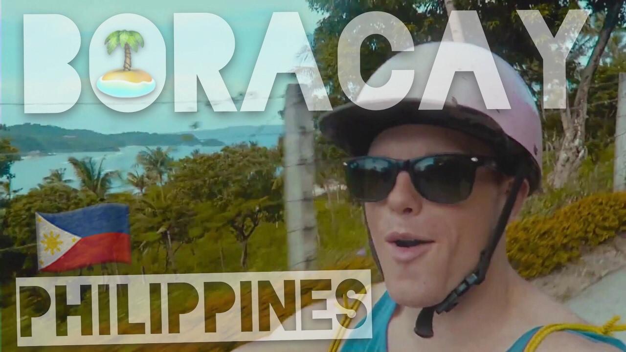 The REAL Boracay Island ??? Philippines Visual Vibes [Music Video Travel Vlog] [Puka Beach]