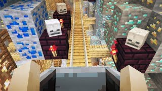 This Minecraft Ride Took Me To HIDDEN TREASURE