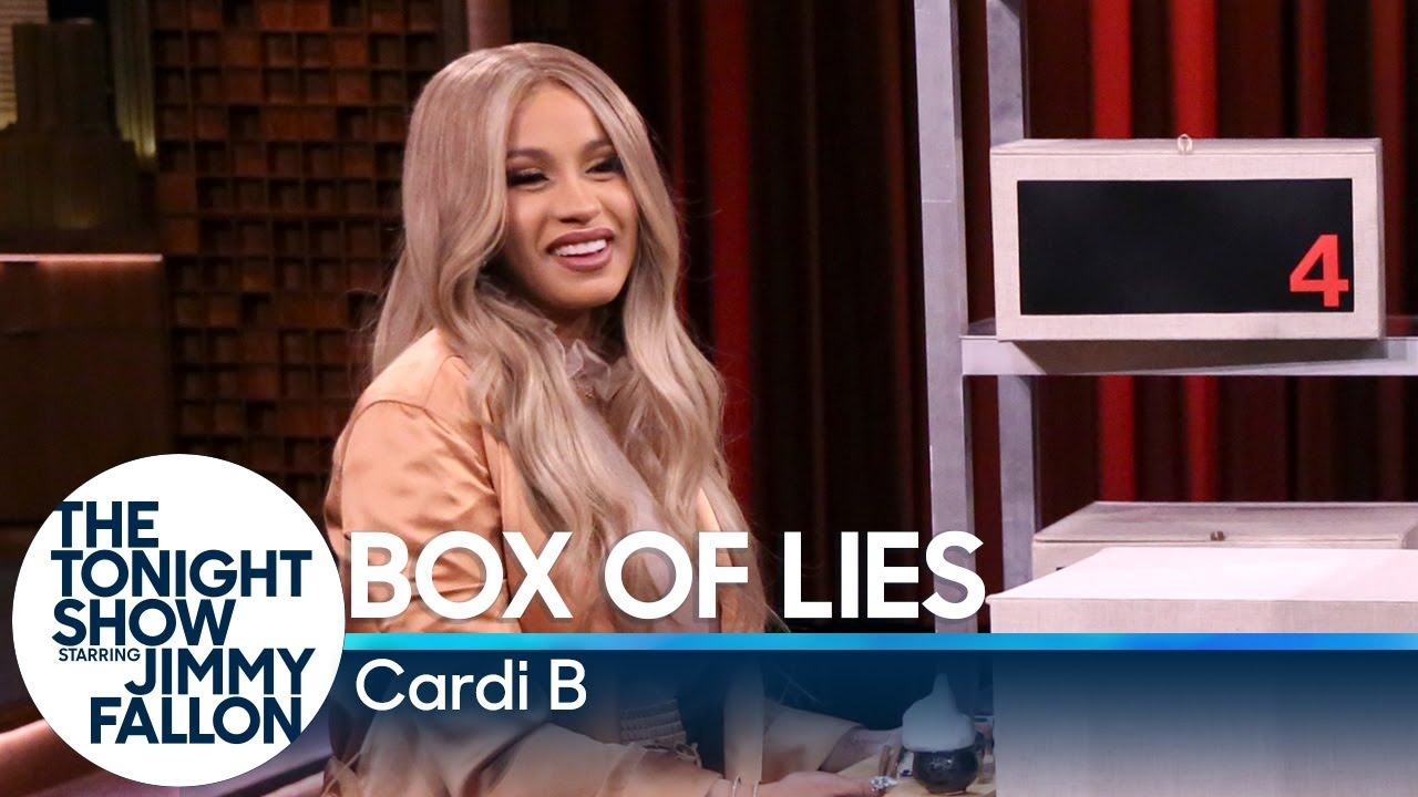 Box of Lies with Cardi B #1