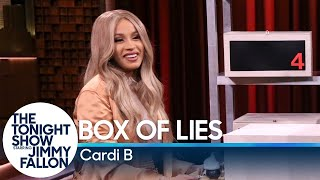 Cardi B and Jimmy take turns trying to stump each other about what items are hidden inside their mystery boxes. Subscribe NOW to The Tonight Show Starring ...