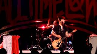 All Time Low   Weithless live HD @ Palac Akropolis, Prague, Czech Republic 31 08 2012
