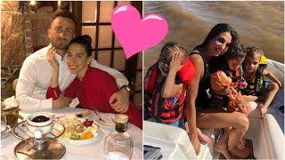 ¡Mucho amor! Las fotos del finde romántico y en familia de Cinthia Fernández y Martín Baclini