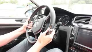 Abfahrtskontrolle Klasse B - Teil 1: Lenkradschloss, Diebstahlsicherung (Fahrschule, Führerschein)