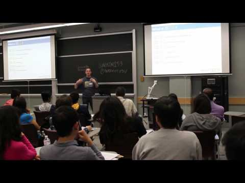 UC Berkeley IEOR - Cal Day Presentation with Professor Phil Kaminsky
