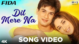 Presenting the love chemistry between shahid kapoor & kareena in a very romantic song 'dil mere naa' from movie 'fida' sung by udit narayan alka...