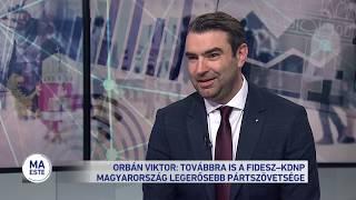 Orbán viktor: továbbra is a Fidesz - KDNP Magyarország legerősebb pártszövetsége