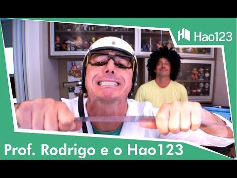 Prof. Rodrigo e o HAO123 (Vídeo Institucional)