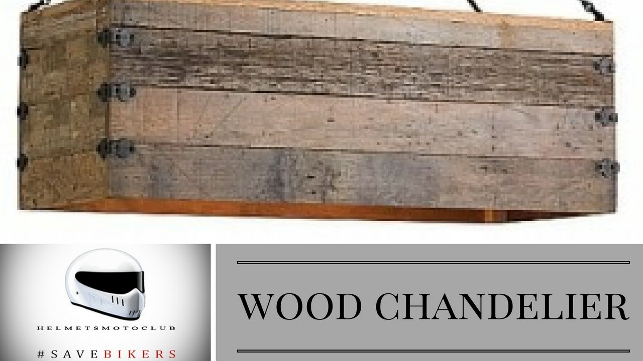 Make a chandelier with reclaimed wood light version youtube make a chandelier with reclaimed wood light version arubaitofo Gallery