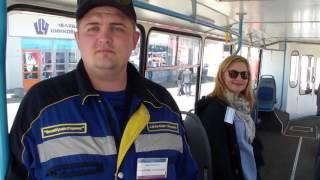 Троллейбус после модернизации.(С 12 по 14 мая 2016 года жители и гости Челябинска получат уникальную возможность посетить Уральский экономиче..., 2016-05-13T16:08:30.000Z)