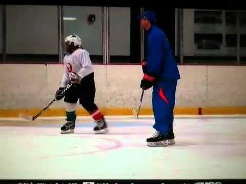 Islanders Iceworks Andrew MacDonald in summer camp