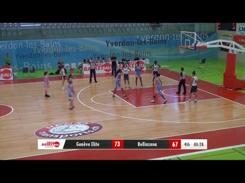 Season Opening: 3ème place: Genève Elite vs Juice Bellinzona