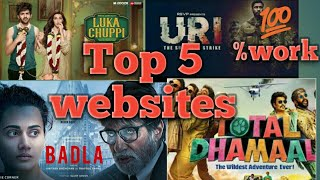 Top 5 hindi movie website  /How to download bollywood movies
