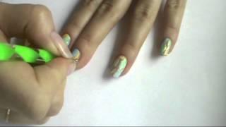 Видео урок № 27. Рисунок на ногтях дотсом «Разноцветные витражи»(В этом уроке я хотела показать вам что при помощи дотса на ногтях можно выполнять не только дизайн в виде..., 2014-11-11T07:44:41.000Z)