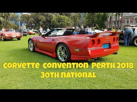 Corvette Show 2018 - Convention Perth 30th National