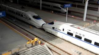 CRH2A+CRH2A, China High Speed train 中國高速列車