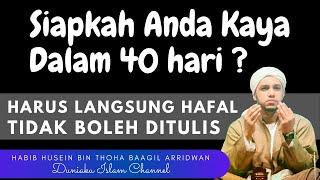 Download Lagu Ijazah Amalan Cepat Kaya Dalam 40 Hari - Habib Husein Bin Toha Ba'agil Tuban Terbaru 2020 mp3