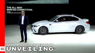 2019 BMW M2 Competition Unveiling