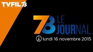 """7/8 Le journal – Edition spéciale """"attentats à Paris"""" du lundi 16 novembre 2015"""