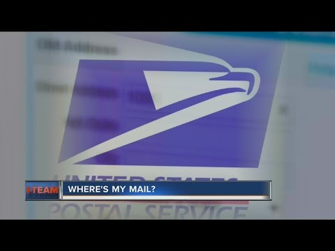 Where's My Mail? The I-TEAM Investigates Problems At The Post Office