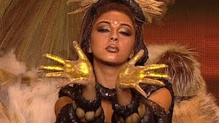 Fawazeer Myriam  African dance / ميريام فارس رقص أفريقي