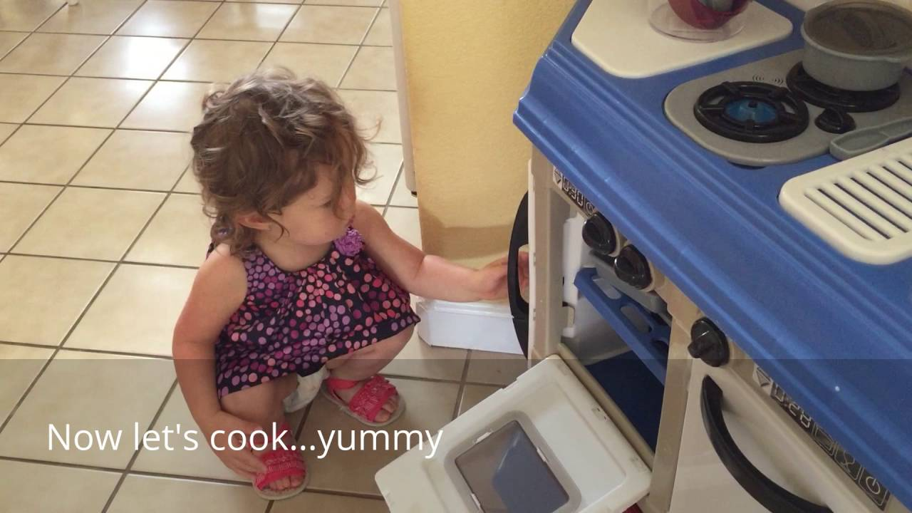 my very own cooking kitchen//american plastic toys//review - youtube