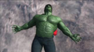 Making of Superman vs Hulk - The Fight (Part 4) - Draft #2
