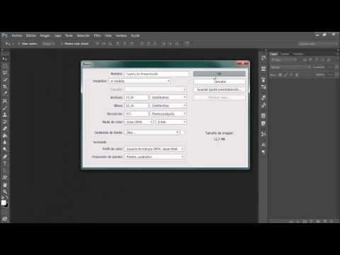 Medidas Para Una Tarjeta De Presentación Adobe Photoshop