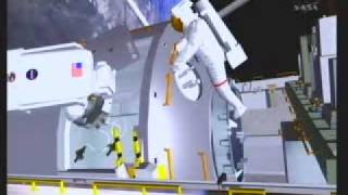 STS-122: Space Walk EVA CG 1