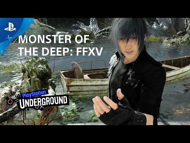 Monster of the Deep: Final Fantasy XV Gameplay | PS VR