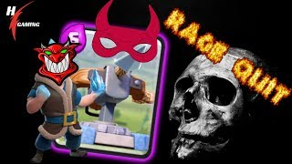 Clash Royale Best Deck 2019 - They All RAGE QUIT - Ladder Push LIVE!