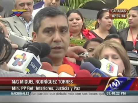 Rodríguez Torres llama a comunidad UCV permitir presencia de cuerpos de seguridad