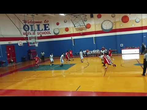 Jaqcuori Basketball Highlights vs. Olle Middle School