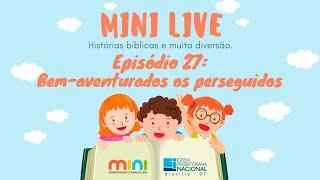 MINI LIVE IPNONLINE Episódio 27: Bem Aventurados os perseguidos (Lic. Davi Medeiros) - 07/07/2020