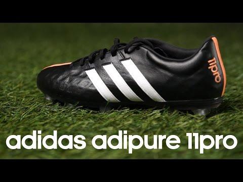 Review botas adidas adipure 11pro Black-White-Flash Orange
