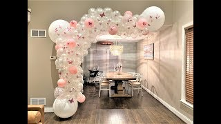 Butterfly Balloon Garland DIY | How To