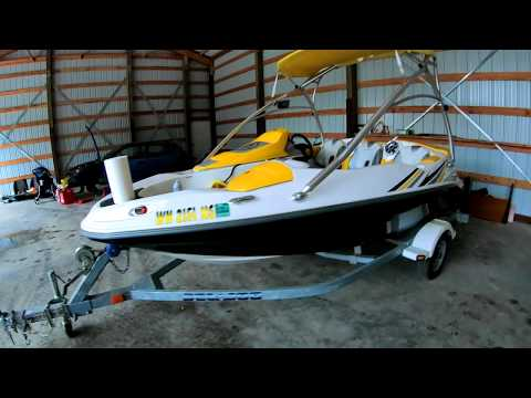 Can A SeaDoo Sportster Be A Fishing Boat???