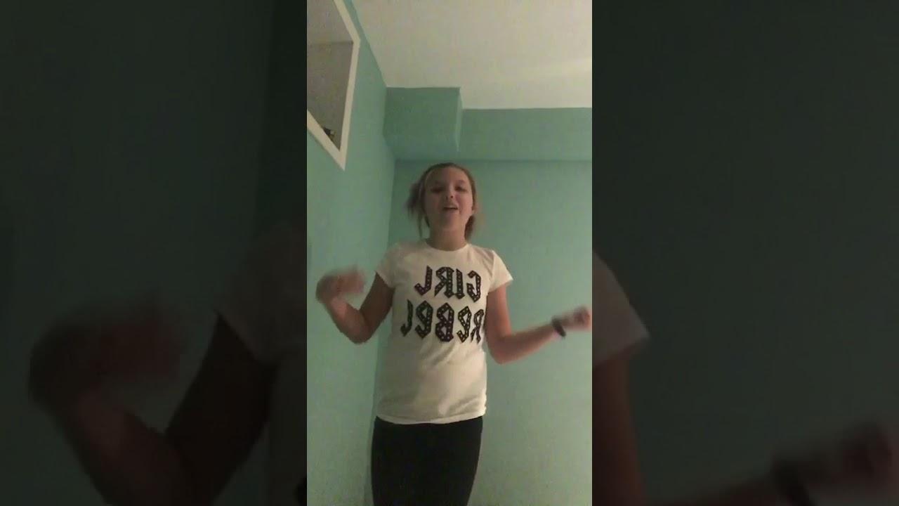 Seven gymnastics girls- audition - YouTube