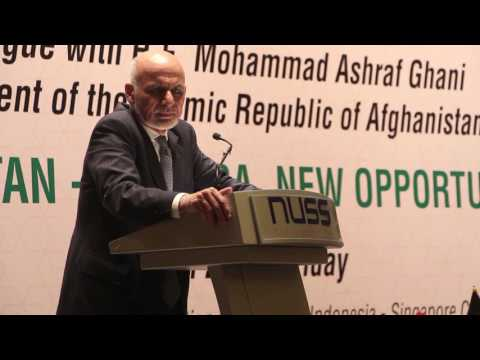 NUSS Dialogue 2017 with H.E. Mohammad Ashraf Ghani, President of the Islamic Republic of Afghanistan
