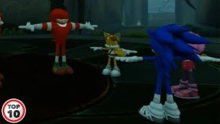 Top 10 Sonic Glitches