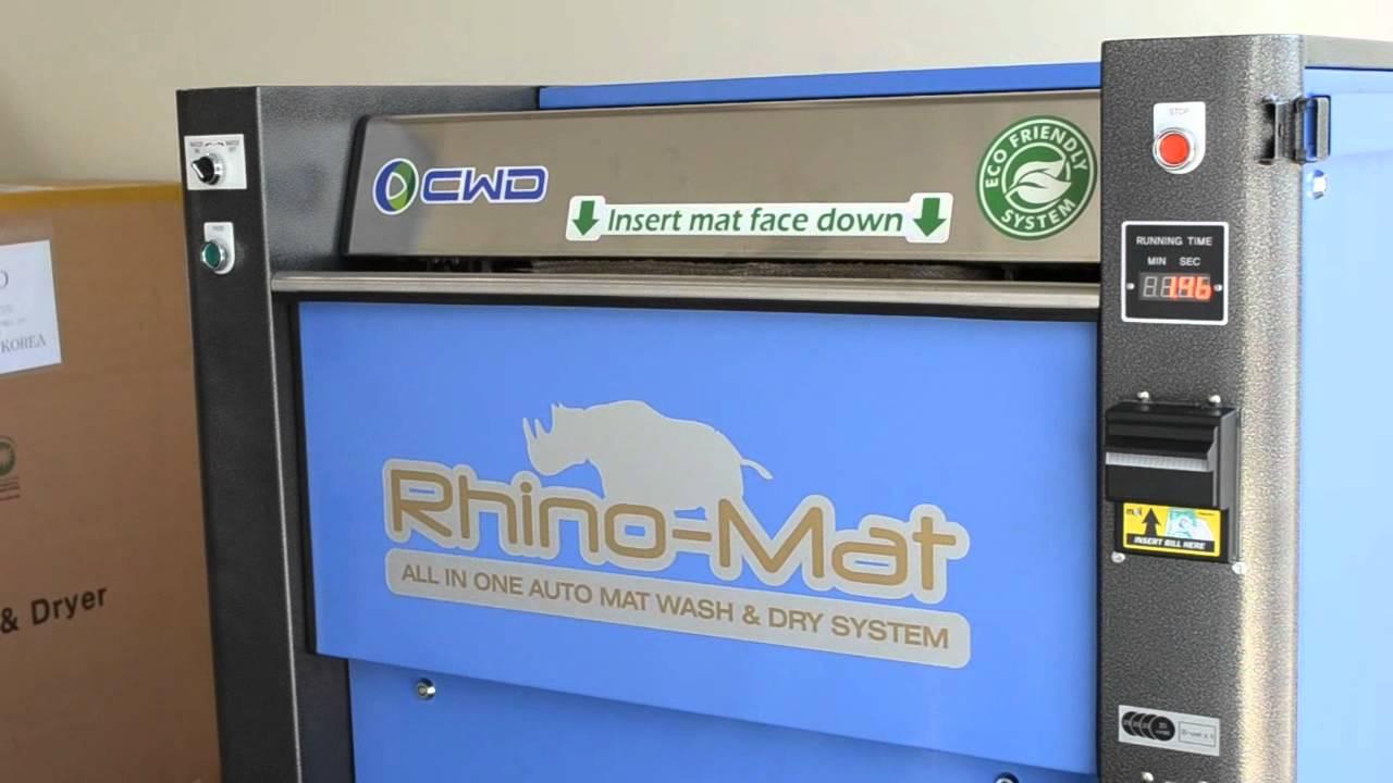 Rhino Mat The Best Car Mat Dry Machine Youtube
