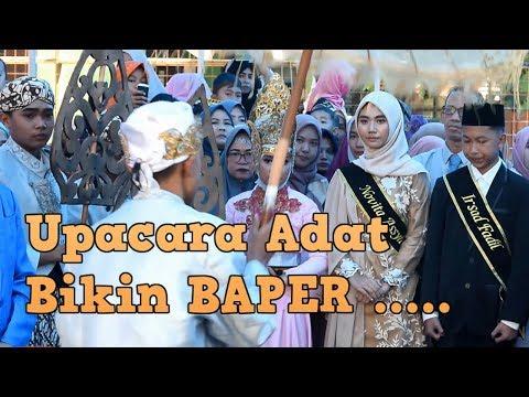 Upacara Adat Heboh, Kocak Bikin Baper Pada MTsN 2 Sukabumi 2019