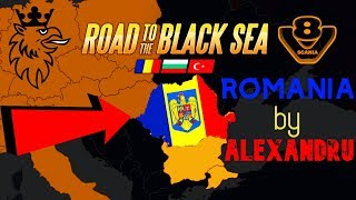 🔛ROAD TO BLACK SEA-ROMANIA MAP BY ALEXANDRU  ETS2 1.34 🔛 Download