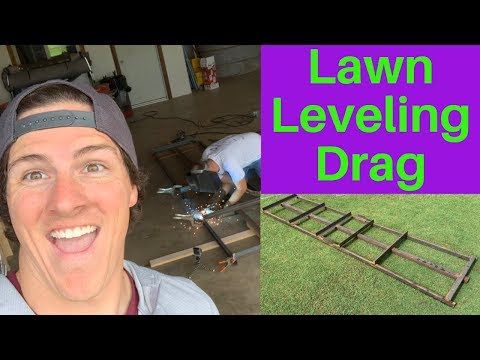 Lawn Leveling Drag for a Level Yard and Grass