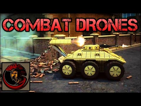 Unmanned Combat Drones - Tank Killers!