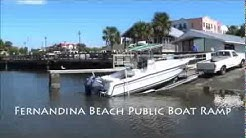 Fernandina Beach Public Boat Ramp ~ Nassau County, Florida
