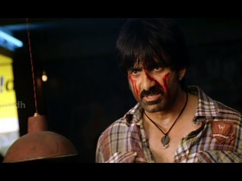 Neninthe Interval Fight and Dialogues - Neninthe Movie Scenes - Raviteja, Siya