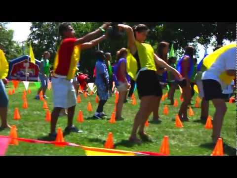 Outrageous Games Corporate Team Building - YouTube