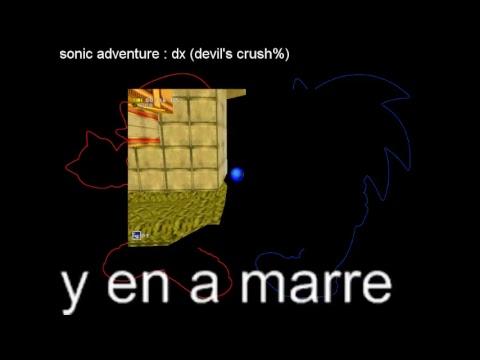 sonic adventure dx (devil's crush%) (ragequit)