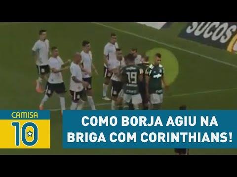 Fez Bem? OLHA Como BORJA Agiu Na BRIGA Com Corinthians!