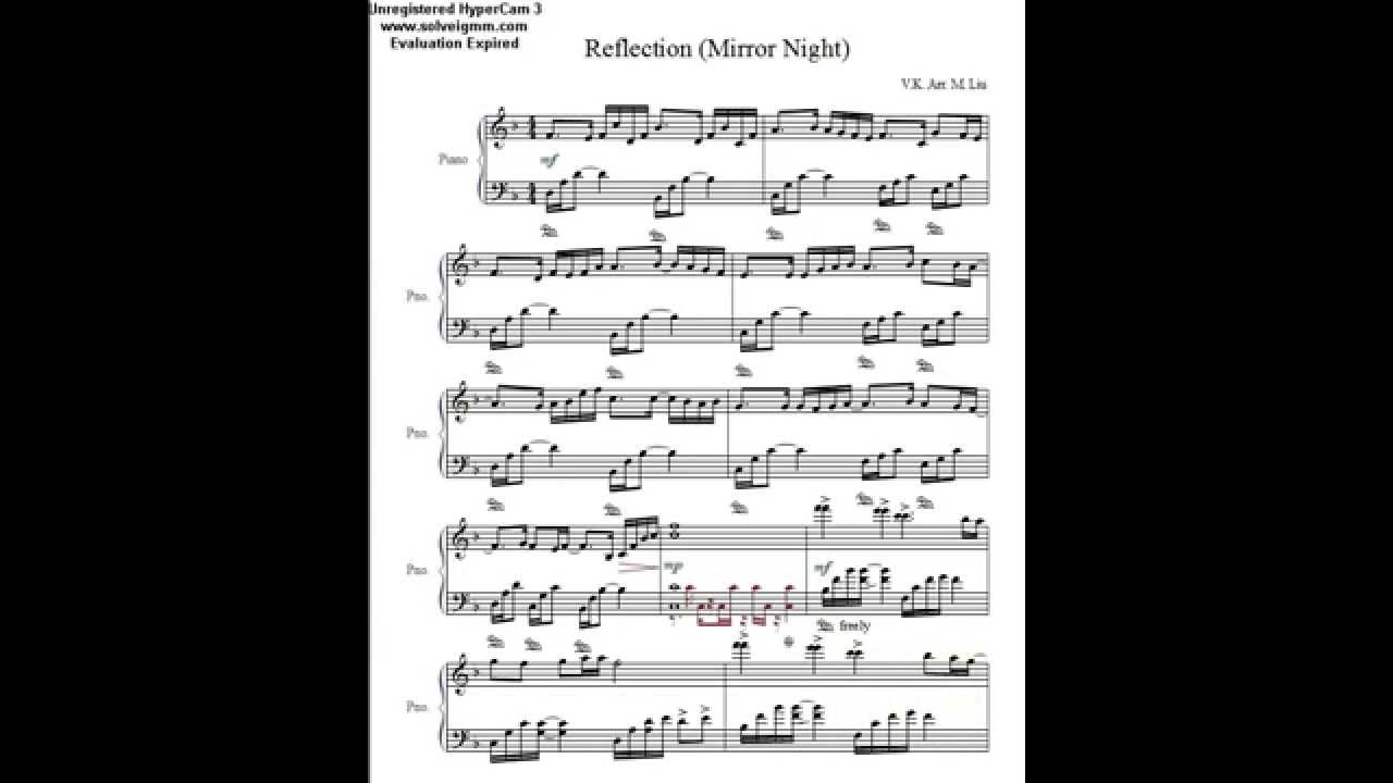 Reflection Mirror Night Deemo By V K Piano Cover